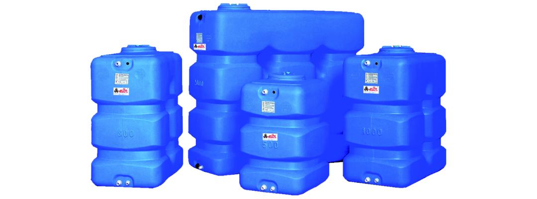 Пластикові накопичувальні баки для холодної води