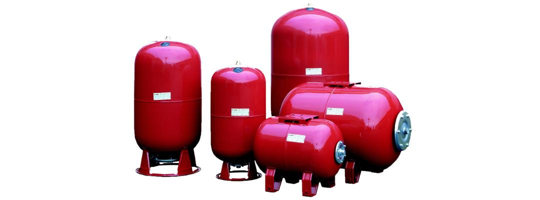 Мембранні баки для систем опалення та ГВЗ