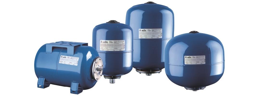 Гідроакумулятори для холодної води
